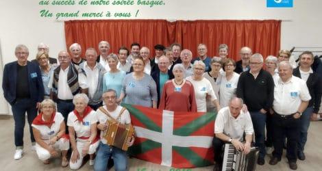 """Une belle soirée sur le thème """"Basque"""""""